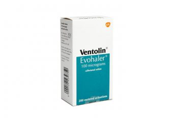 What are the negative effects of the ventolin?